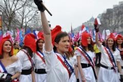 Парижская весна – Французы на демонстрации против однополых браков и глухоты властей