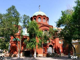 Покровский храм – единственная действующая православная церковь в Харбине