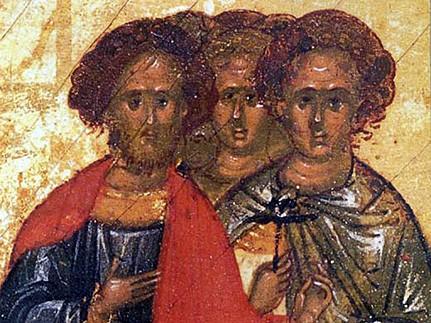 Церковь чтит память мученика Агапия и с ним семи мучеников
