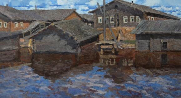 Стожаров В. Муфтюга. Большая вода. 1966