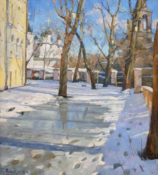 С. Смирнов.Пригревает.2012