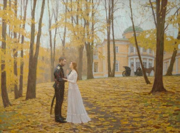 Шмарин Д. Прощание.Осень 1919 года. 2008