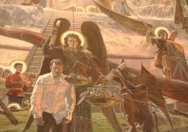 Свирепые ангелы художника Рыженко и злой воскресший человек в белой рубахе