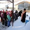Глава Карасукской епархии организовал и провел для сирот паломническую поездку на святой источник (+ФОТО)