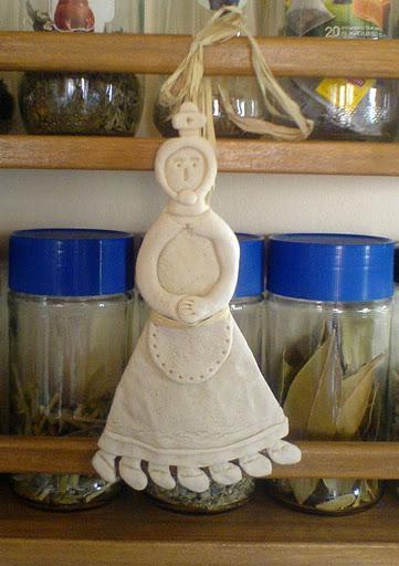 Кукла Мама Поста из теста, фото: popelix.gr