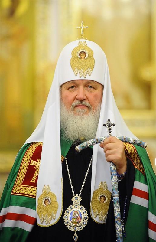 Патриарх Кирилл совершил литургию в Крымске