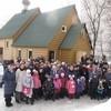 Настоятель будущего московского храма построил временную церковь своими руками