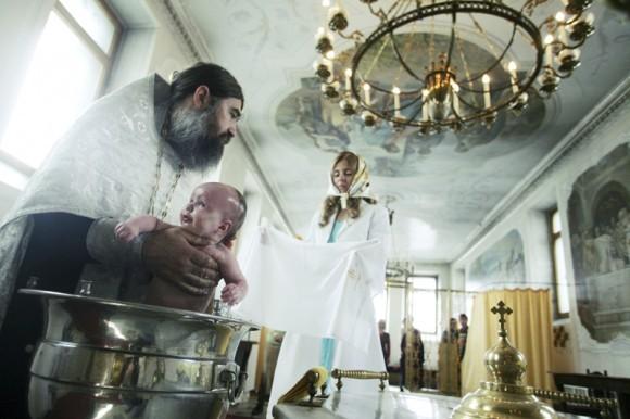 Крещение ребенка. Автор Головкин Павел