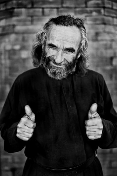 Монах Пётр. Автор: Рассанов Андрей