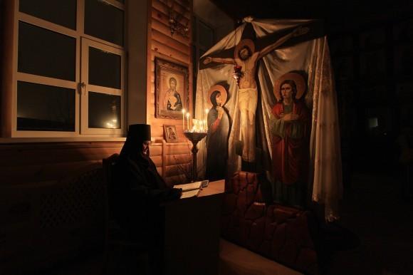 Чтение Псалтири. Автор: Бушуев Дмитрий