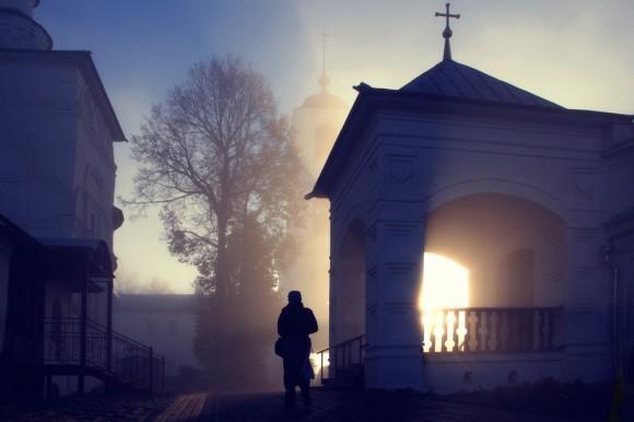 Чудо в монастыре. Автор: Молодцов Евгений