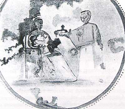 Росписи катакомб Присциллы. Середина III в (?). Рим