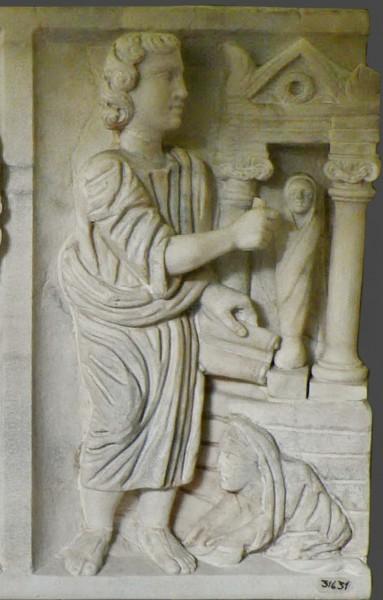 Фрагмент саркофага. 325-350-е годы. Музей Пио-Кристиано, Ватикан