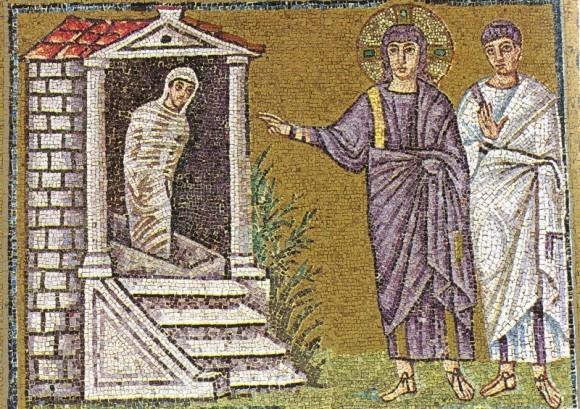 Мозаика церкви Сан Аполинаре Нуово. 530-е годы. Равенна, Италия
