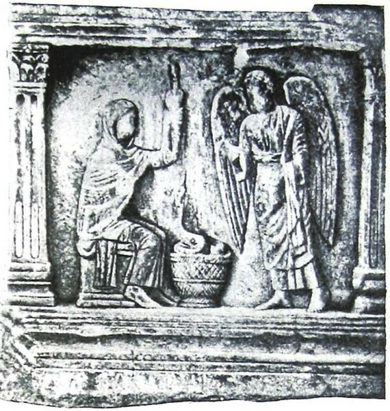 Саркофаг Браччофорте. Нач. V в. Равенна, Италия