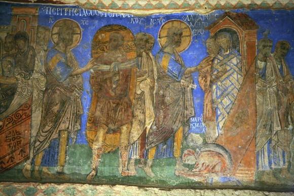 Фреска церкви Токали килисе в Гёреме. X-XI в. Каппадокия, Турция