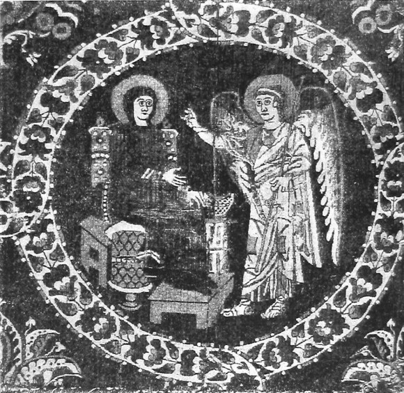 Шелковая ткань из «Латеранского сокровища». VI-VII в. Музеи Ватикана