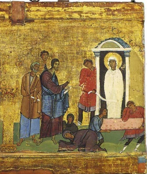 Церковь празднует воскрешение Лазаря
