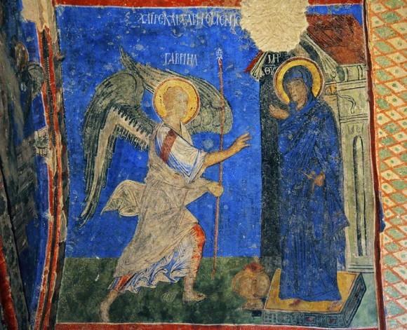 Фреска церкви Токали Килисе. X-XI в. Гёреме, Каппадокия,Турция