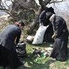 Монахи Второ-Афонского монастыря очистили гору Бештау от мусора