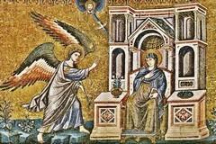 Благовещение Пресвятой Богородицы: иконы, фрески, мозаики