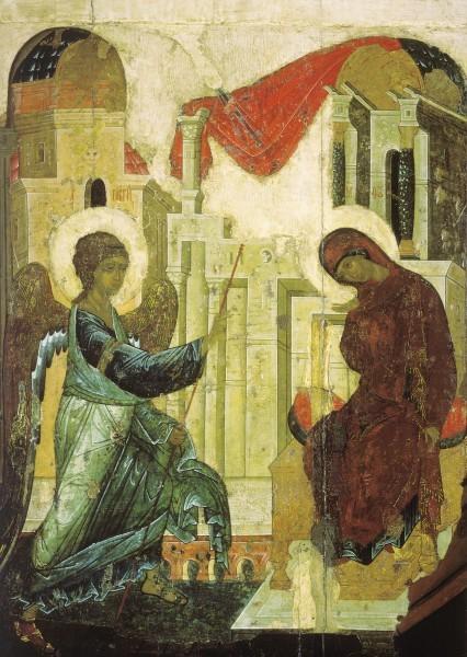 Икона из праздничного чина Успенского собора г.Владимира. 1408 г. ГТГ, Москва