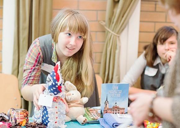 Настя из православной школы «Рождество»