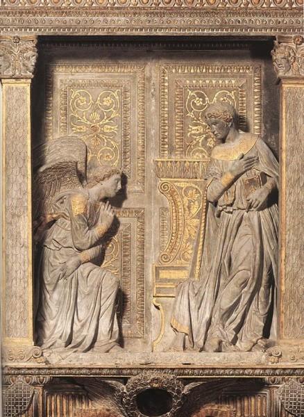 Донателло. Алтарь Кавальканти. Около 1435 г. Церковь Санта Кроче, Флоренция