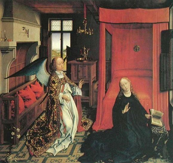 Рогир ван дер Вейден. 1445 г. Лувр, Париж