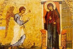 Благовещение: Тексты праздника – о Богородице