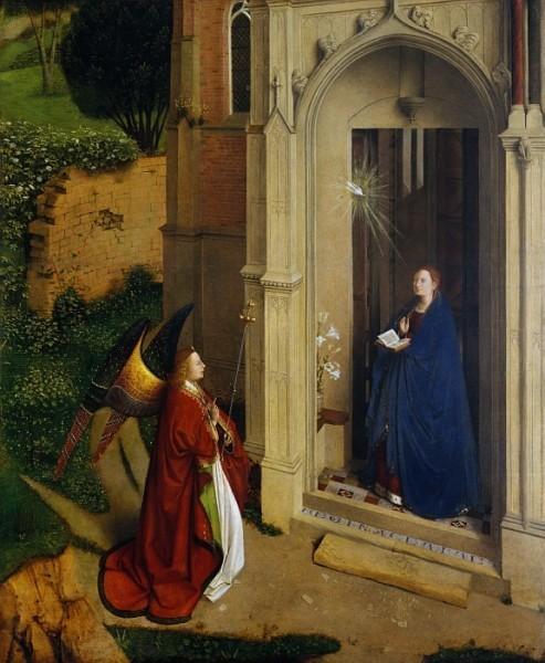 Приписывается Петрусу Кристусу. 1440-1450-е г. Музей Метрополитен, Нью-Йорк