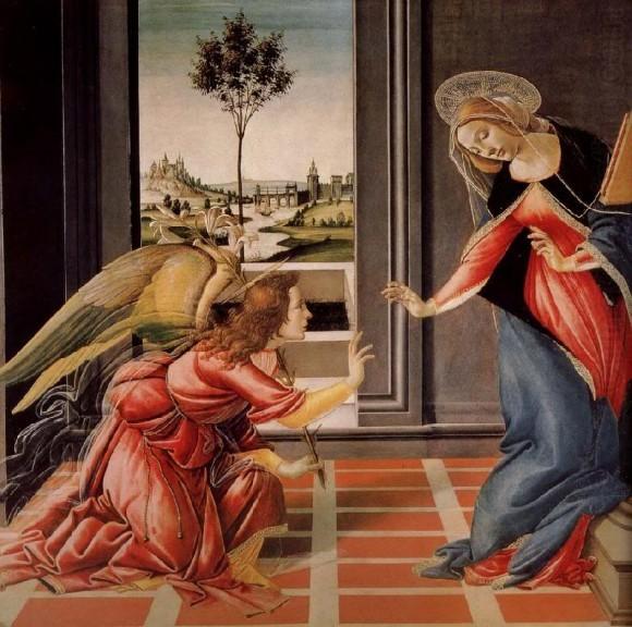 Сандро Боттичелли. 1489-1490 г. Галерея Уффици, Флоренция