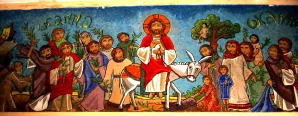 Вход Господень в Иерусалим - встреча со Христом