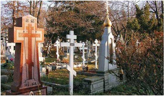 Русское православное кладбище в США