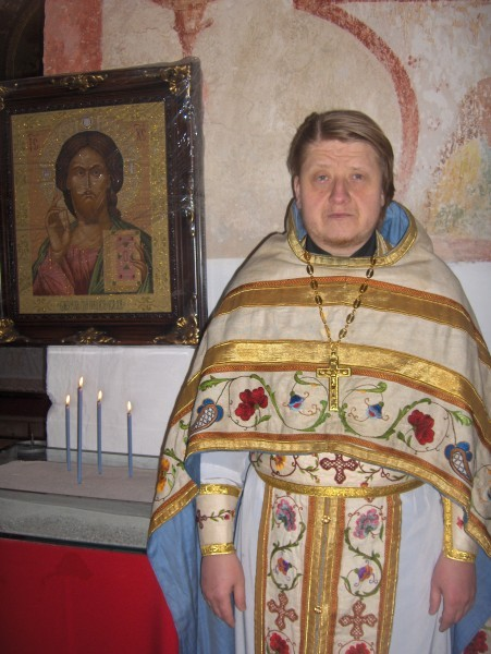 В храме святителя Николая в Клатовах