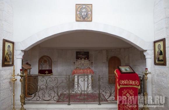 Интерьер храма Рождества Иоанна Предтечи
