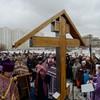 Спиленный в Люблино поклонный крест восстановлен