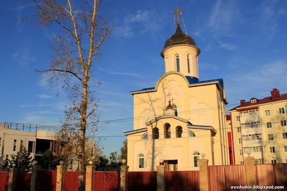 Храм Георгия Победоносца в Сосновке
