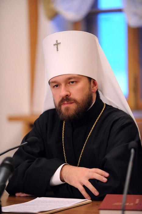 Митрополит Иларион: Русский человек знает Бога в которого он верит