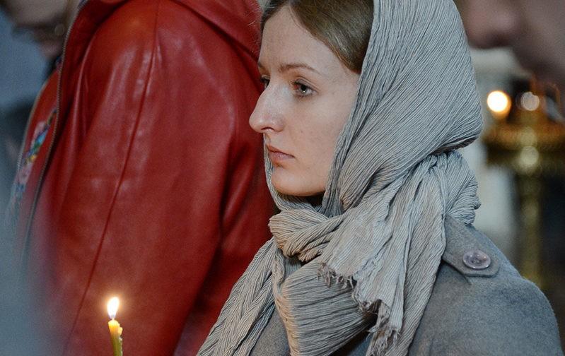 Храм Христа Спасителя: Мариино стояние (ФОТО)