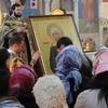 Храму великомученицы Екатерины в Риме передана икона блаженной Матроны Московской с частицей ее мощей
