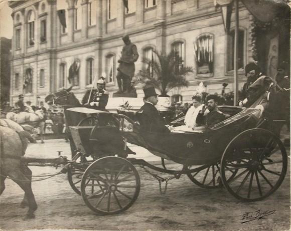 Визит императорской четы в Париж в 1896 году