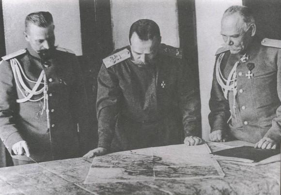 Царская Ставка. 1915 год