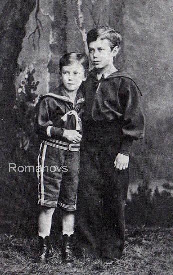 Николай и Георгий. 1877 г.