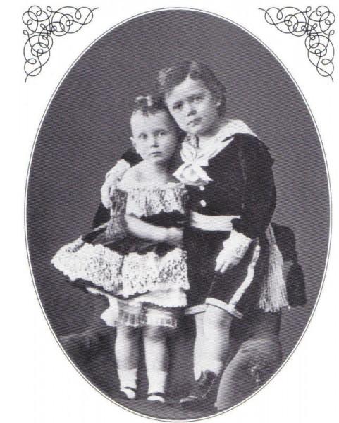 Ники и Жоржик. 1873 г.