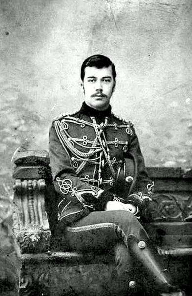Цесаревич Николай Александрович. 1891 г.