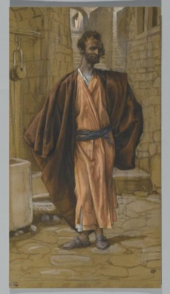 Иуда Искариот. Джеймс Жак Тиссо, 1836.
