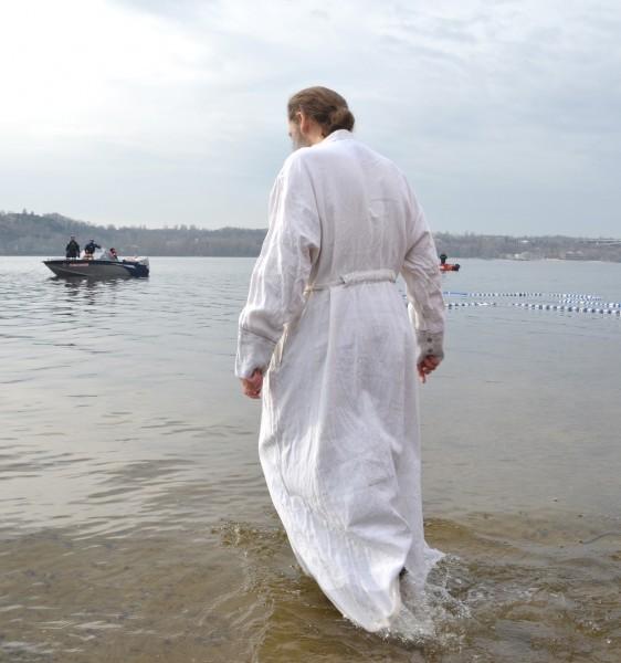 Крещение, Днепр, 2013 год