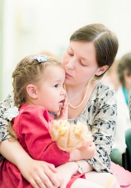 Вторая дочь Ася с Олечкой