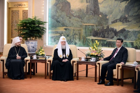 Начался визит Святейшего Патриарха Кирилла в Китай (8)